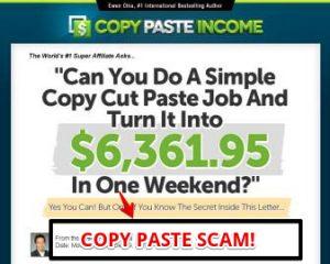 Copy Paste Income Review