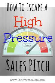 Internet marketing high pressure sales