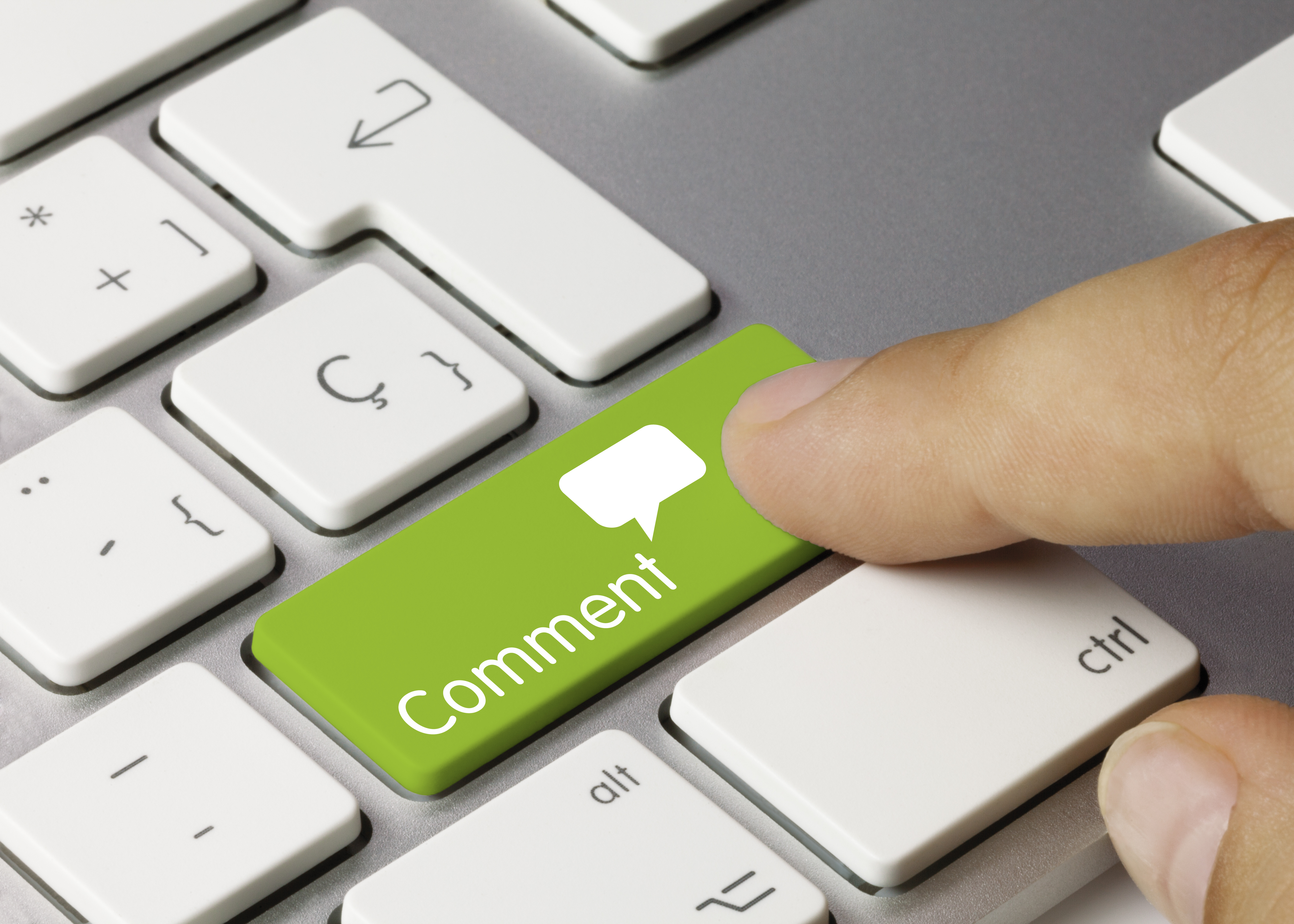 Responding to Website Comments