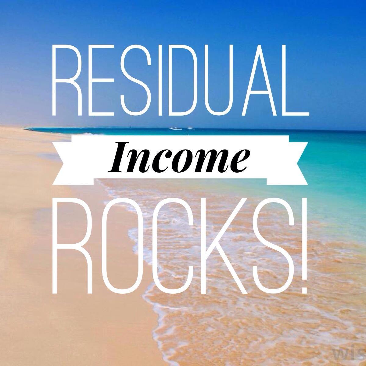 Creating Residual Income